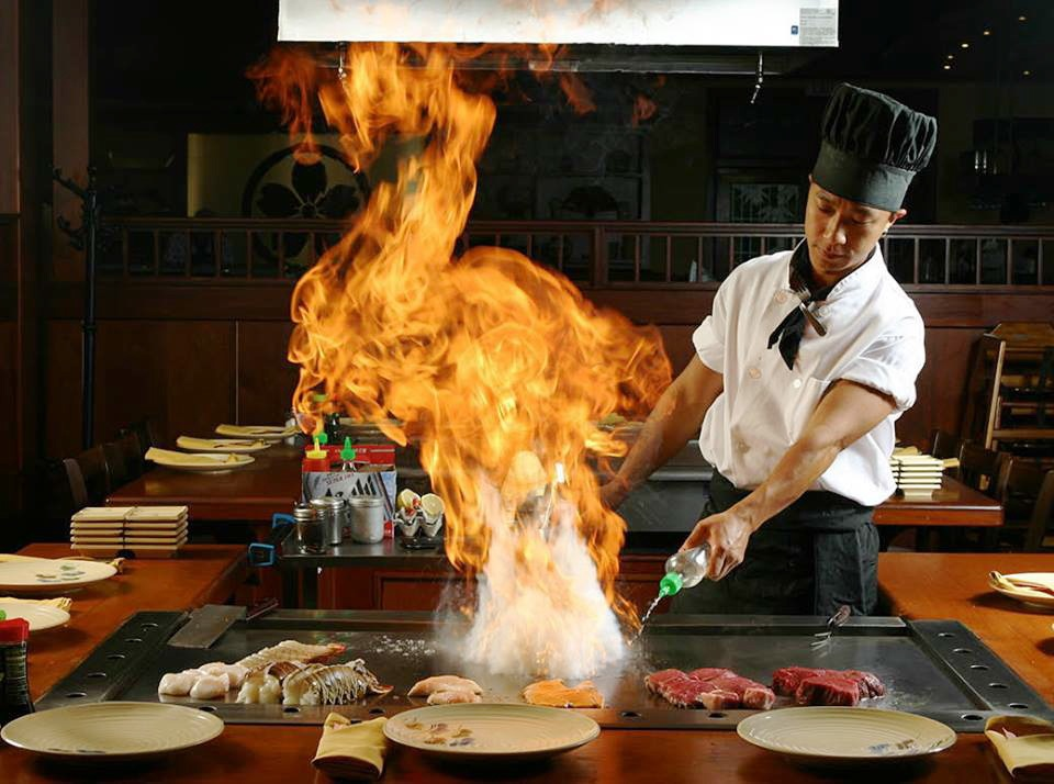 Hibachi Chef When You Eat At A Full Scale Anese Restaurant
